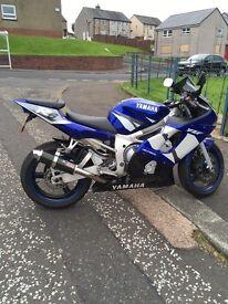 Yamaha r6. 600 supersport