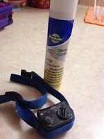 Citronella anti bark dog collar
