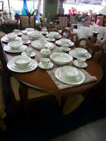 GIBBARD TABLE AND 4 CHAIRS REDUCED NOW $ 399.95