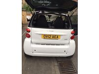 BARGAIN SMART CAR FORTWO PASSION 1.0 1 YEAR MOT , ROAD TAX EXEMPT