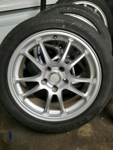 """17"""" Wheels with tires - 5x114.3"""