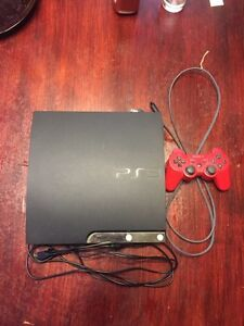 250 gb PS3 w/ 1 controller and games