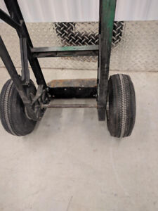 Handcart - pneumatic tires, used.,8 to choose,flatbed furniture