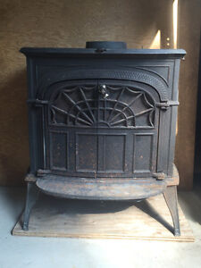 intrepid 11 wood stove used for 2 years....including chimney