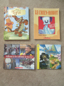 Selection of Childrens French Books