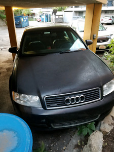 Audi a4 1.8t 2004 for project or parts