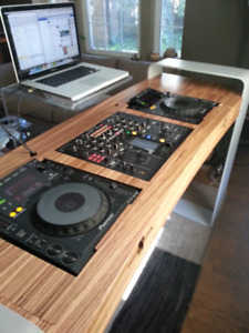 Custom Made DJ Table