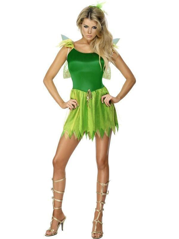 Water Nymph Costume Womens Peter Pan Costu...