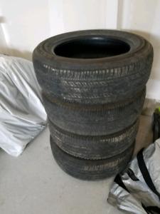 "Bridgestone Ecopia 16"" tires ($250)"