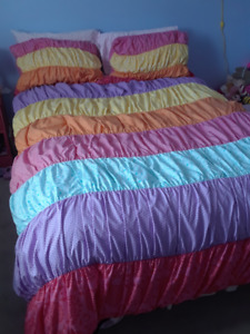 Girls Double/Queen comforter and shams