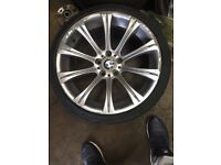 BMW e60 m5 genuine 19 inch BBS alloys