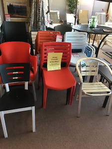 CONTRACT PATIO CHAIRS