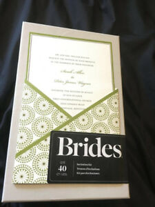 Wedding invitations from Michael's, brand new!