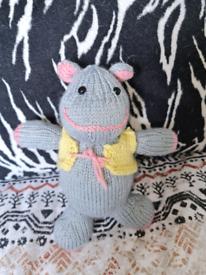 Stuffed hippo top