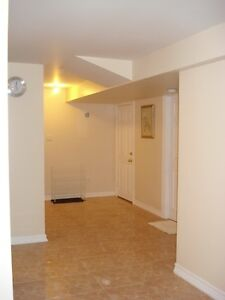 Location!!! BRAND NEW BASEMENT -  FURNISHED LARGE BEDROOM