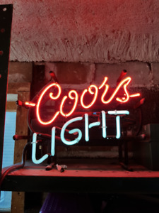 Coors Light Neon Sign Kijiji In Ontario Buy Sell