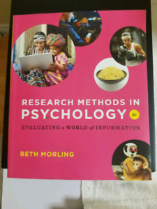 Research Methods in Psychology: Evaluating a World of Info