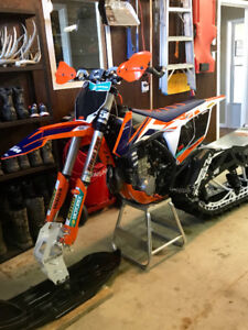 PRICE REDUCTION 2018 Timbersled ARO LE 121 and 2016 KTM 450 SXF