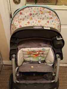 Graco baby stroller and car seat St. John's Newfoundland image 1