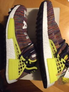 Adidas x Pharell Human Race nmd multicolour 8.5