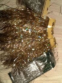 5 packs of gold and silver strands
