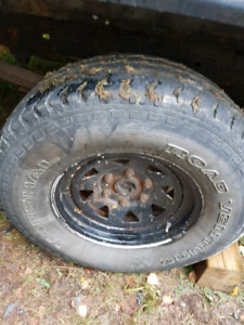 6 bolt steel rally rims Chev / GMC