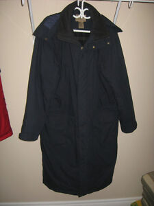 Men's LL Bean Nor'easter Commuter Coat, Never Worn, Size L, Navy