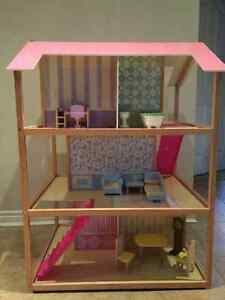 KidKraft So Chic Dollhouse with Furniture London Ontario image 3