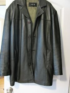 Men's Leather Jacket --REDUCED