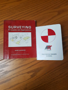 Surveying Principles and Applications Textbook and Field Book Se