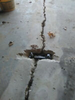 Foundation / Basement crack repair....Since 1992