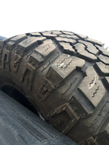 LT275/70/R18 ALL TERRAIN WINTER RATED TIRES