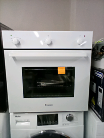 Candy built in single gas oven white new rrp475