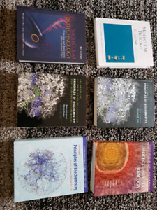 Biology/ biochemistry/biotechnology textbooks