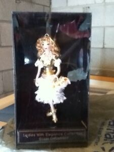 Ladies with Elegance Collection Glass Ornament - REDUCED!!