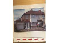 Three bedroom house in Romford/Dagenham