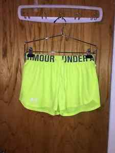 Short jaune fluo UNDER ARMOUR