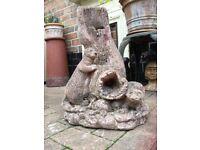 Garden water fountain feature, ornament etc