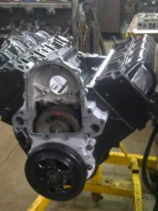 GM 6.5 diesel engine  completely rebuilt  long block