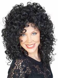 BLACK CURLY CHER WIG NEW TO PURCHASE CHAOS BAZAAR IN ADELAIDE Glandore Marion Area Preview