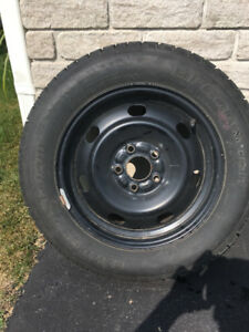 "16"" BF Goodrich Winter Tires and Rims"