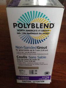 Polyblend Non-Sanded Grout - Haystack