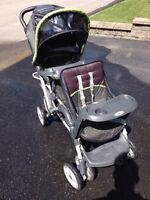 Posset the Double stroller for sale greco