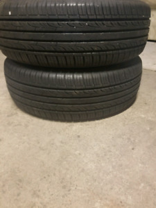 Pair(2) of 195/65/15 Kumho Tires