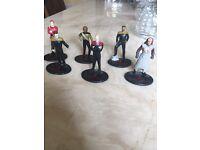 Star Trek Generations Figures