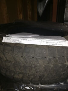 4 winter tires 215/65R16. Bridgestone, Blizzak. Used 1 season.