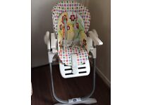 Chicco high chair 20 pounds