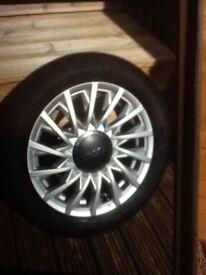 Fiat 500 alloy wheels