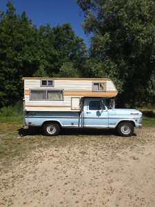 1969 Ford F-250 camper special