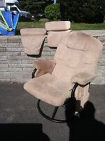 fauteuil a bascule/pivotant - Rocking, inclining Nursery chair
